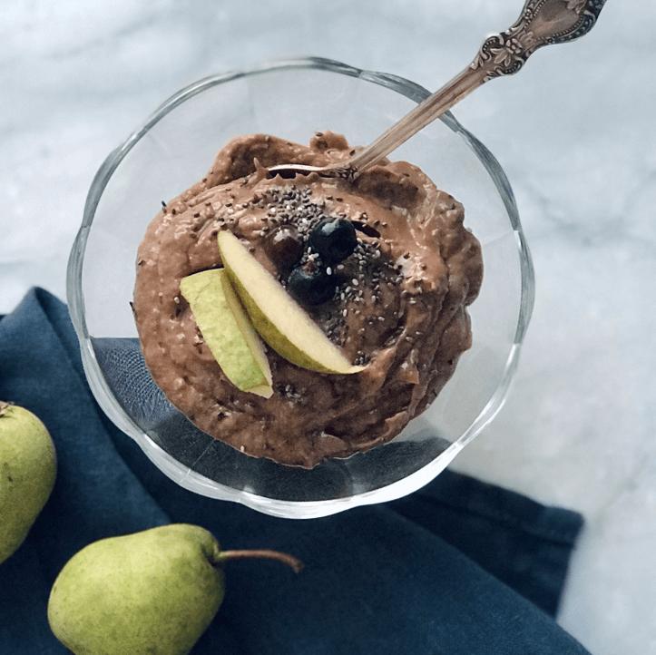 Шоколадный десерт за 5 минут